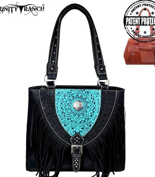 New Arrival :: Trinity Ranch Tooled Leather Collection Tote