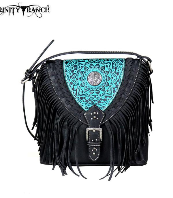 New Arrival :: Trinity Ranch Tooled Leather Collection Crossbody