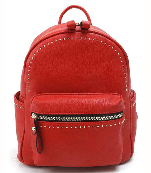 New Arrival :: Studded Fashion Backpack