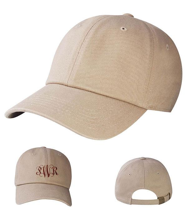 New Arrival :: Wholesale Solid Monogram Hats