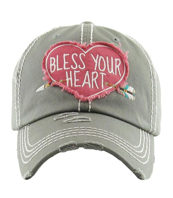 <font color=red>VALENTINE'S</font> :: Bless Your Heart Hat