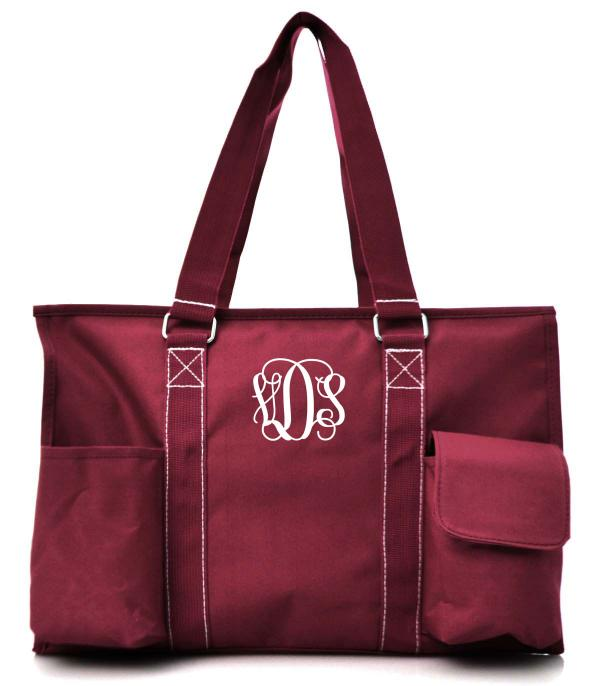 TRAVEL :: SHOPPING I MARKET BASKETS :: Solid Color Utility Tote