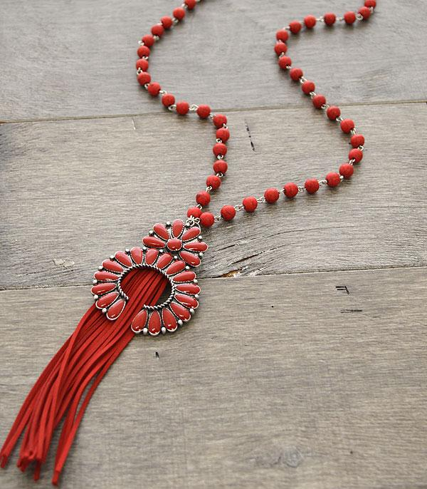 New Arrival :: Beaded Squash Blossom Necklace