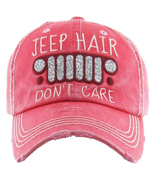 New Arrival :: Jeep Hair Vintage Hat