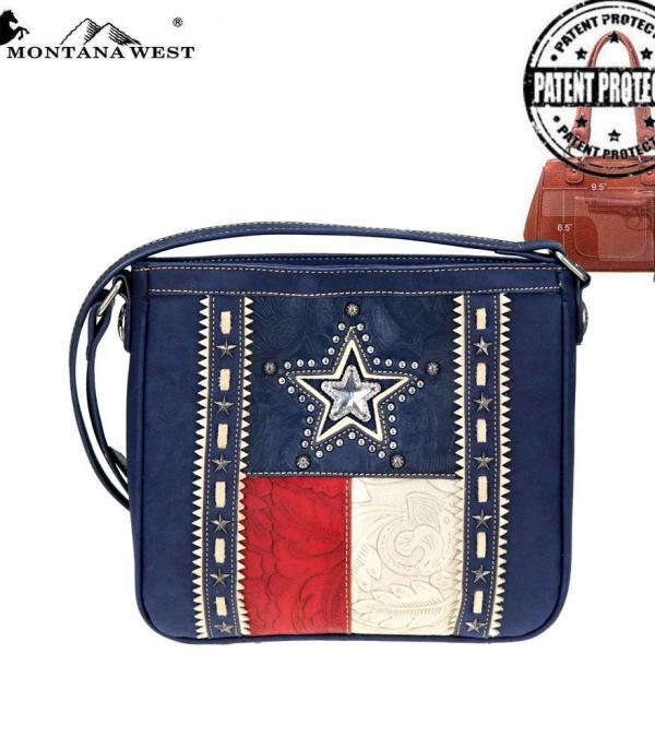 <font color=Red>RED,WHITE, AND BLUE</font> :: Texas Pride Collection Concealed Carry Crossbody