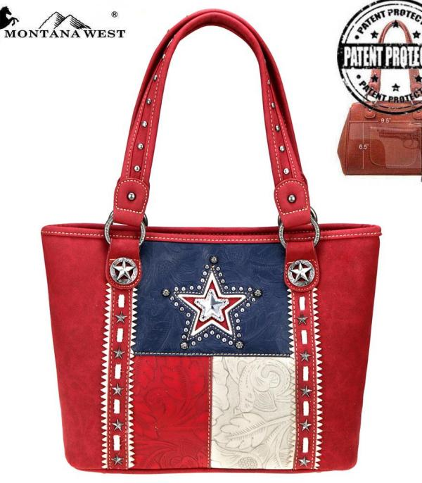 <font color=Red>RED,WHITE, AND BLUE</font> :: Texas Pride Collection Concealed Carry Tote