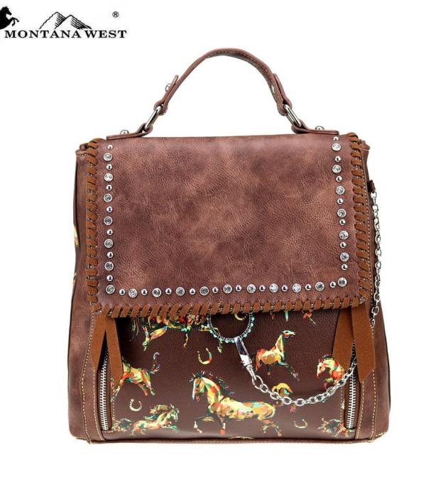 BACKPACKS | LUNCH BAGS :: Montana West Horse Collection Backpack
