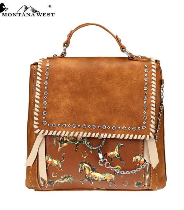New Arrival :: Montana West Horse Collection Backpack