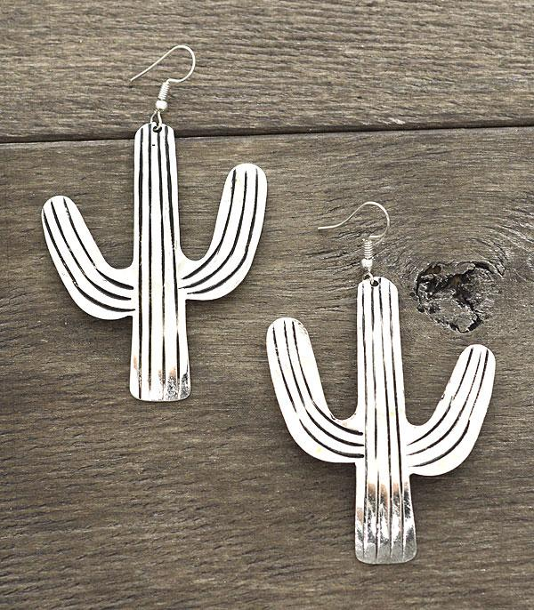 New Arrival :: Handmade Large Cactus Earrings