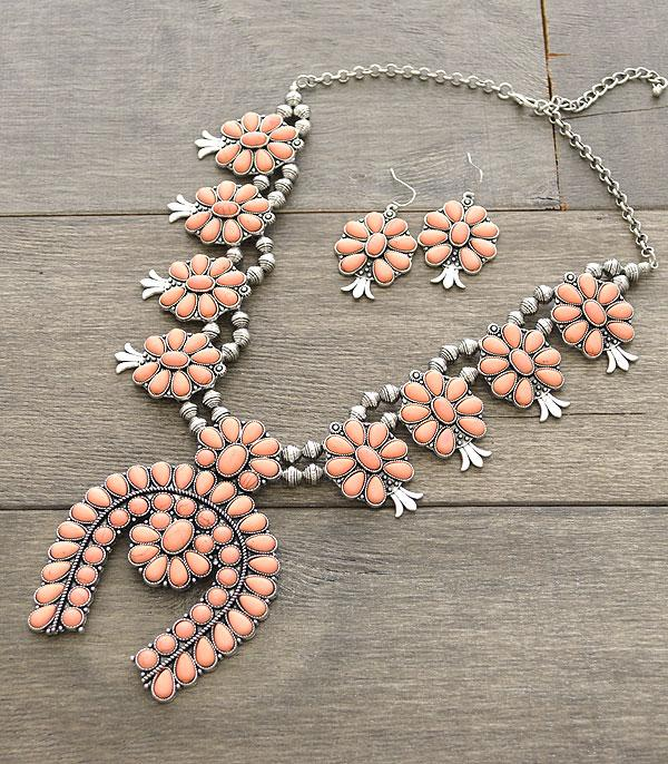 New Arrival :: Squash Blossom Necklace Set