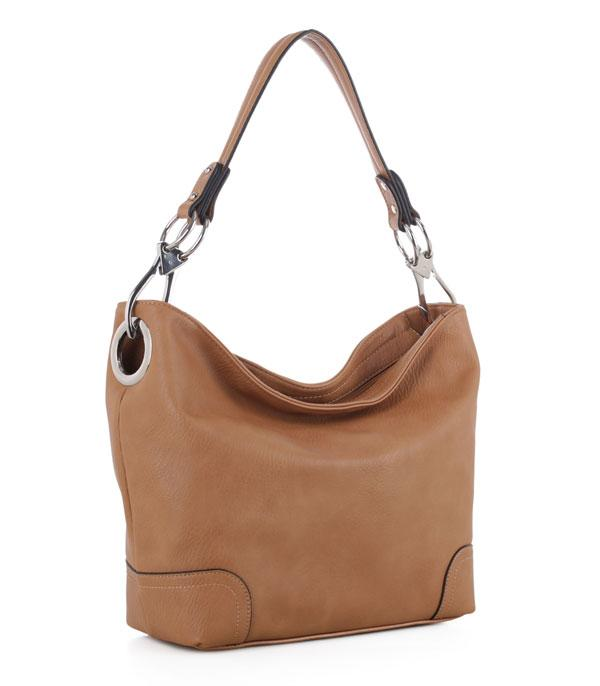 New Arrival :: Soft Faux Leather Shoulder Bag