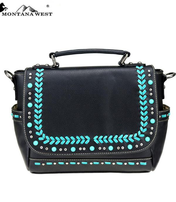 New Arrival :: Montana West Western Collection Satchel/Crossbody