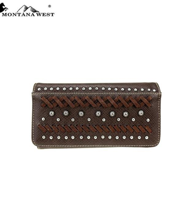 New Arrival :: Montana West Western Collection Wallet/Wristlet