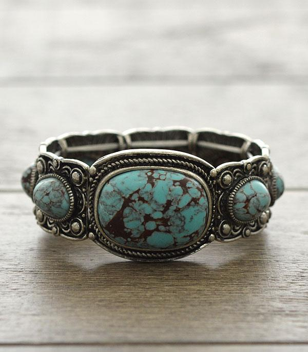 New Arrival :: Natural Stone Fashion Bracelet