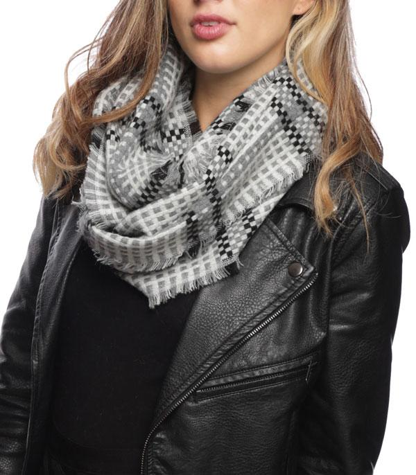 New Arrival :: Plaid Infinity Scarf