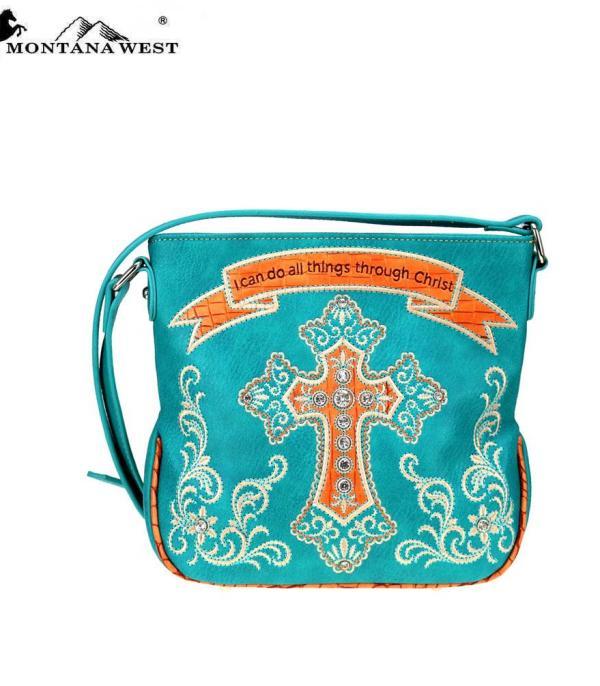 Montanawest Bags Cross Camo Purses Scripture Verse Collection Crossbody