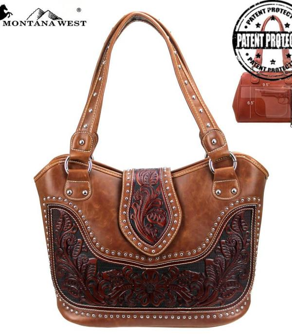 New Arrival :: Montana West Tooled Collection Tote