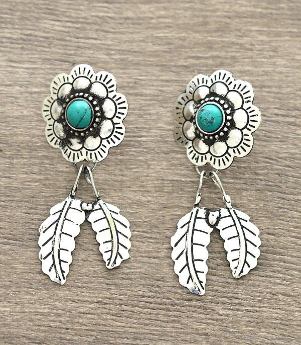 New Arrival :: Handmade Western Flower Earrings