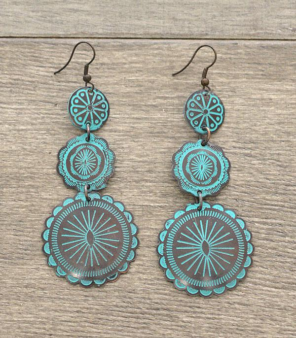 New Arrival :: Handmade Concho Dangle Earrings