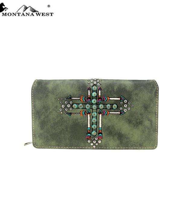 New Arrival :: Montana West Arrow Collection Wallet