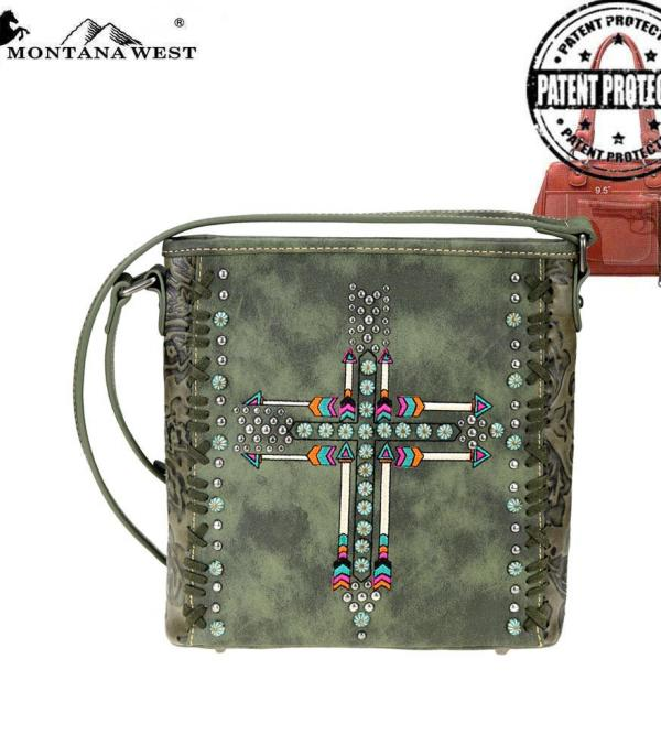 New Arrival :: Montana West Arrow Collection Conceal Crossbody