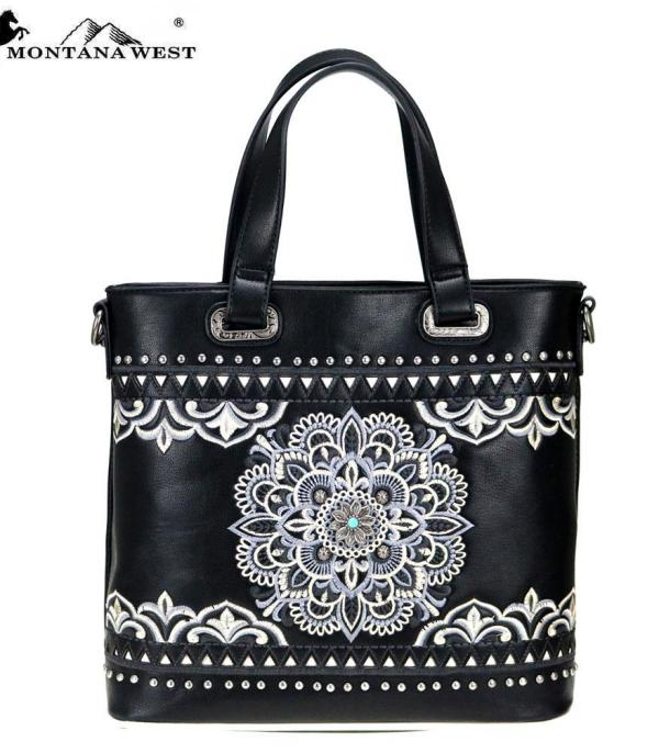 New Arrival :: Montana West Concho Collection Tote/Crossbody