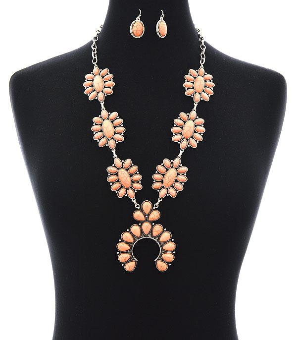New Arrival :: Squash Blossom Statement Necklace Set