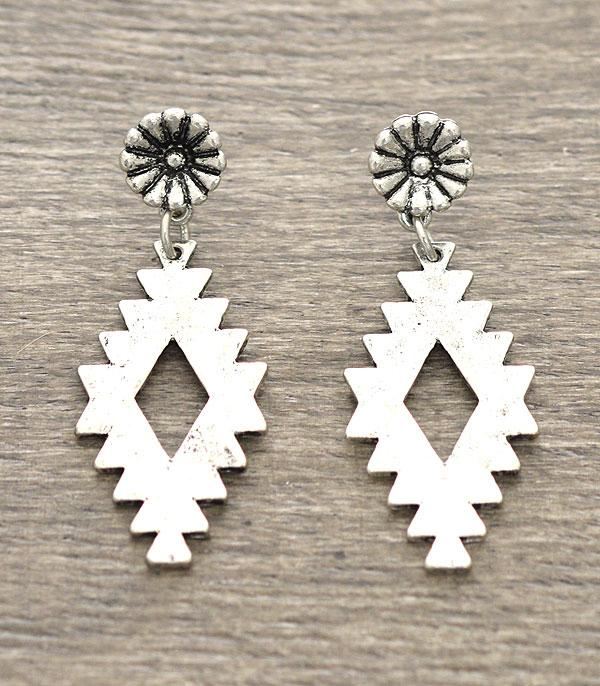 New Arrival :: Western Pattern Earrings