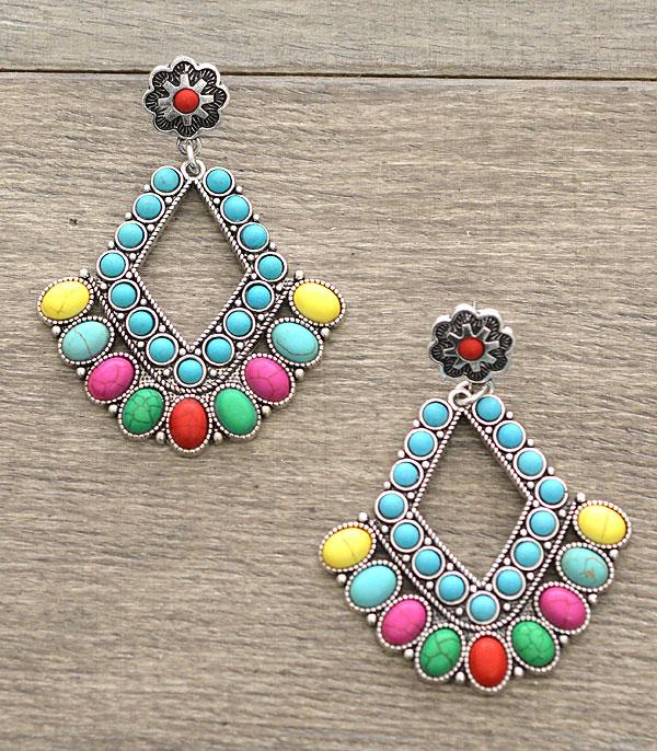 New Arrival :: Western Chandelier Earrings