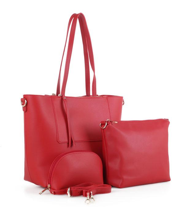 HANDBAGS :: SET BAGS :: 3PC Tote Set Bag