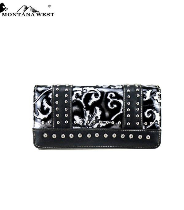 HANDBAGS :: WALLETS | SMALL ACCESSORIES :: Montana West Vintage Floral Collection Wallet
