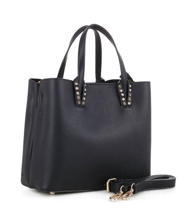 HANDBAGS :: FASHION :: Classic Stud Detail Tote Bag