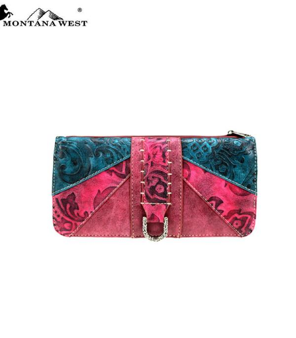 New Arrival :: Western Tooled Collection Wallet