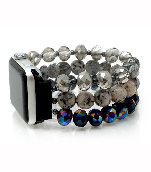 New Arrival :: Glass Bead Apple Watch Band
