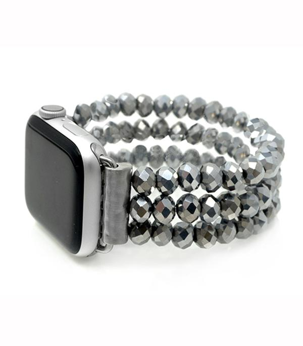New Arrival :: Glass Bead Watch Band