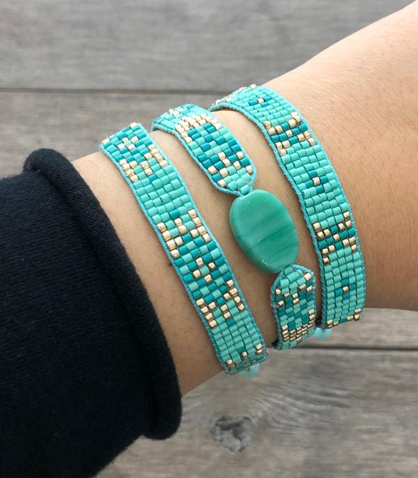 New Arrival :: Seed Bead Bracelet Set