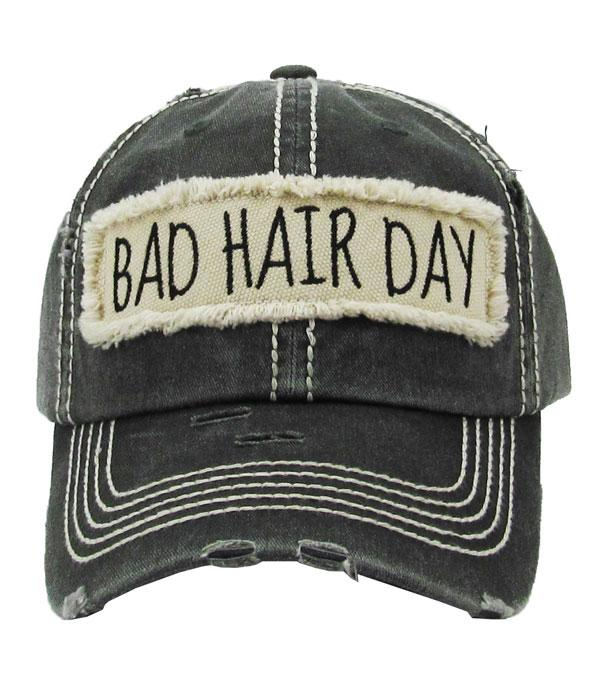 New Arrival :: Wholesale Bad Hair Day Vintage Ballcap