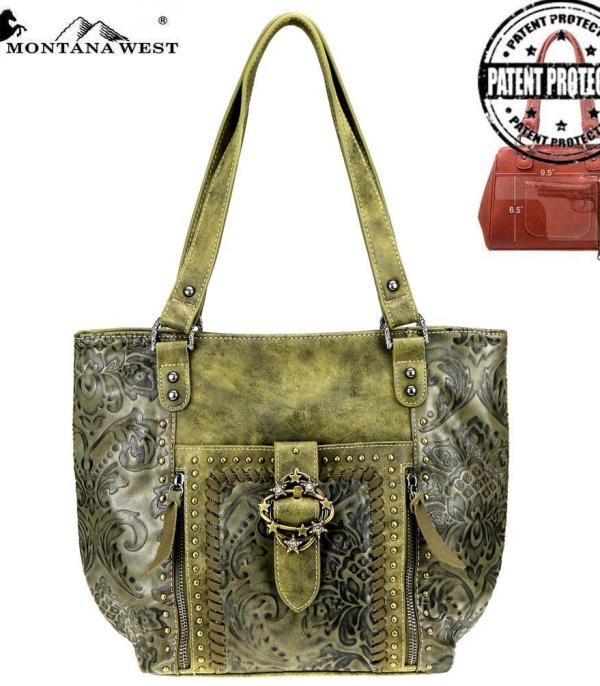 New Arrival :: Montana West Buckle Collection Tote