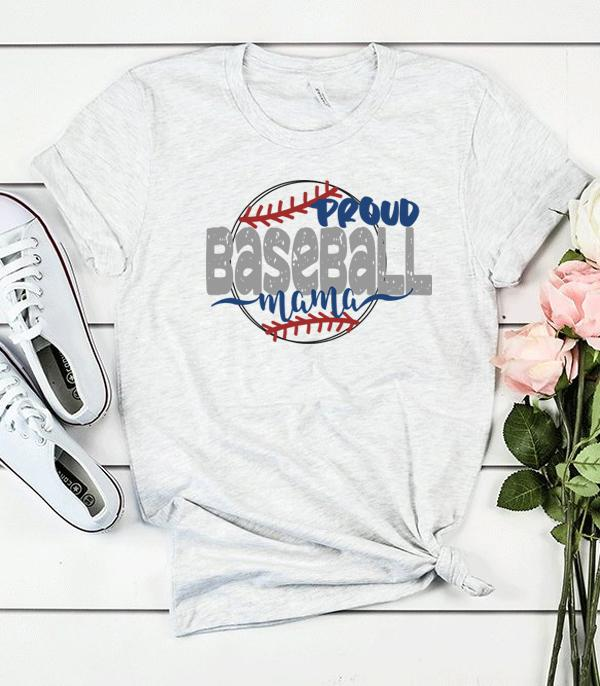 New Arrival :: Wholesale Baseball Graphic T-Shirt