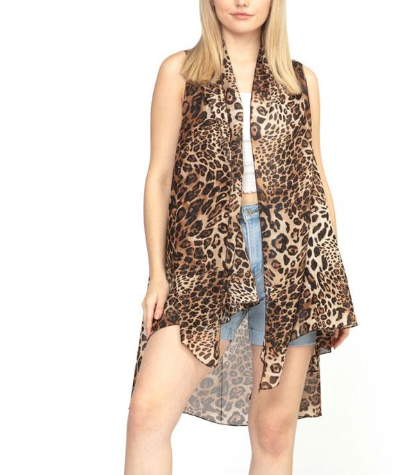 New Arrival :: Wholesale Animal Print Kimono