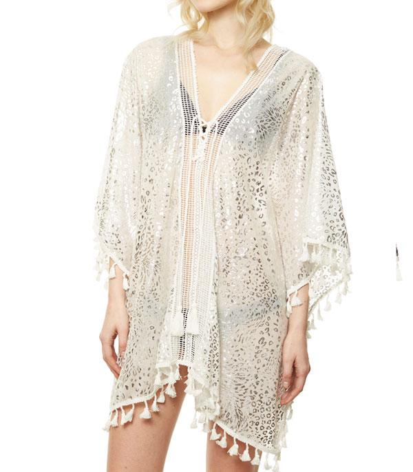 New Arrival :: Wholesale Animal Print Cover-Up Kimono