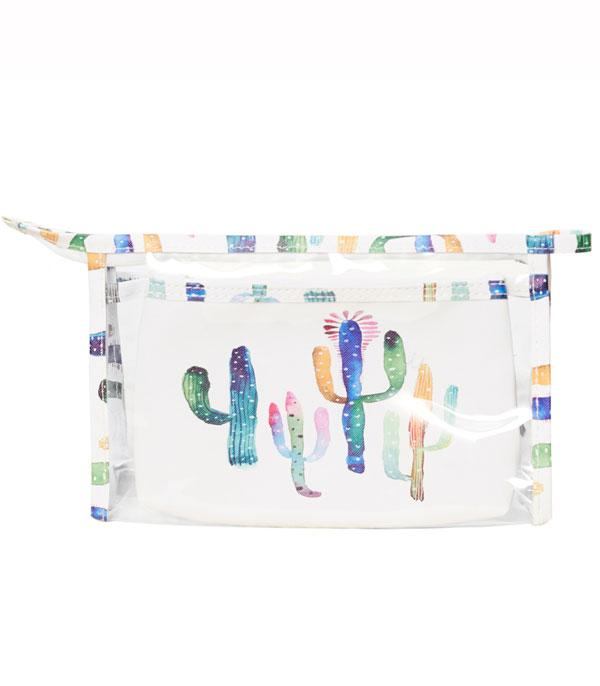 TRAVEL :: DIAPER | TOILETRY | COSMETIC BAGS :: Wholesale Cactus Cosmetic Toiletry Bag