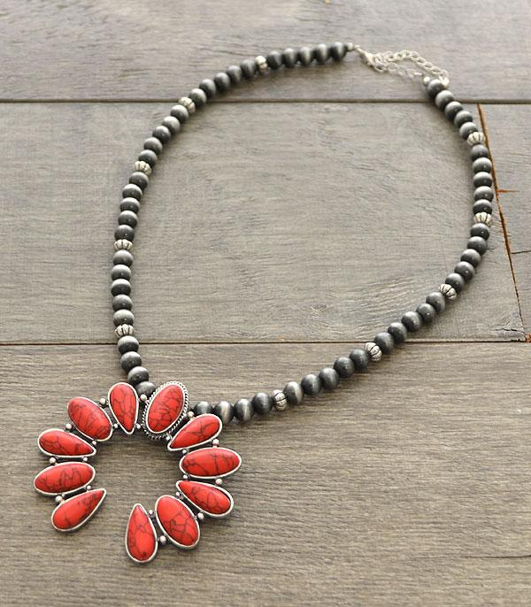 New Arrival :: Wholesale Western Squash Blossom Necklace