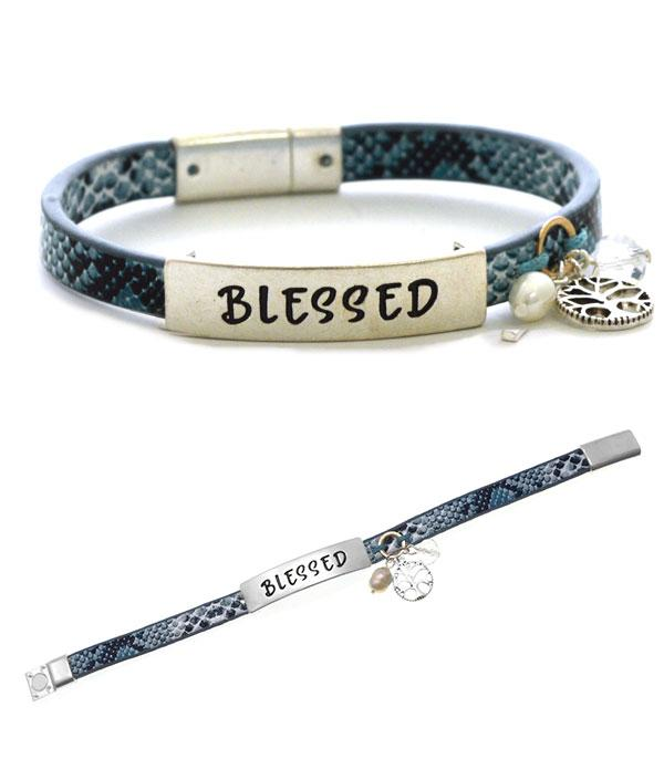 BRACELETS :: LINK :: Wholesale Inspirational Faith Bracelet