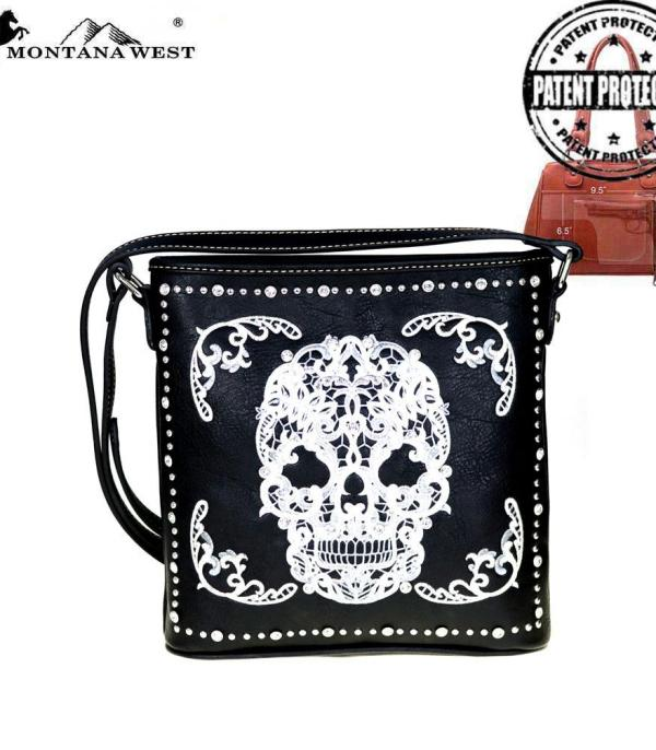 New Arrival :: Wholesale Montana West Sugar Skull Crossbody
