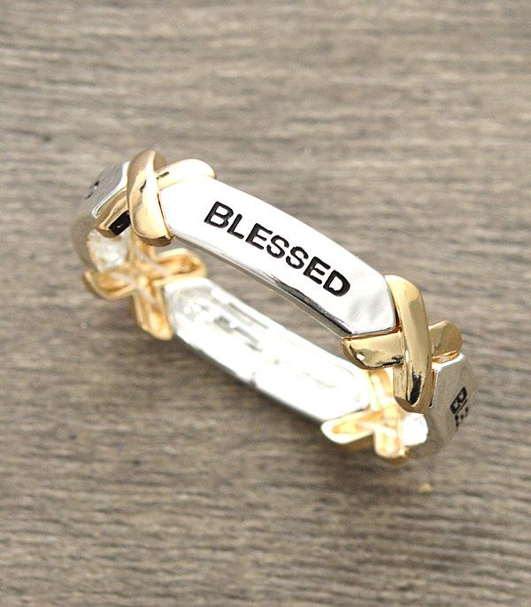 New Arrival :: Wholesale Blessed Inspirational Bracelet