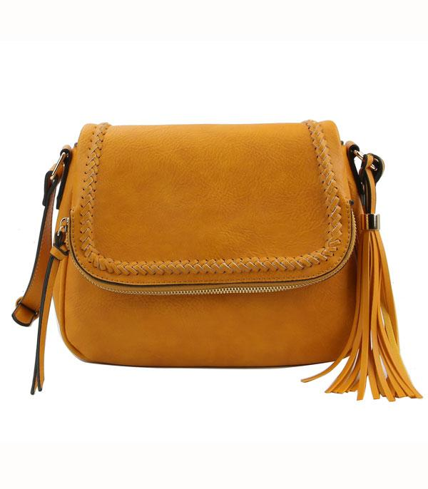 New Arrival :: Wholesale Faux Leather Fashion Crossbody Bag