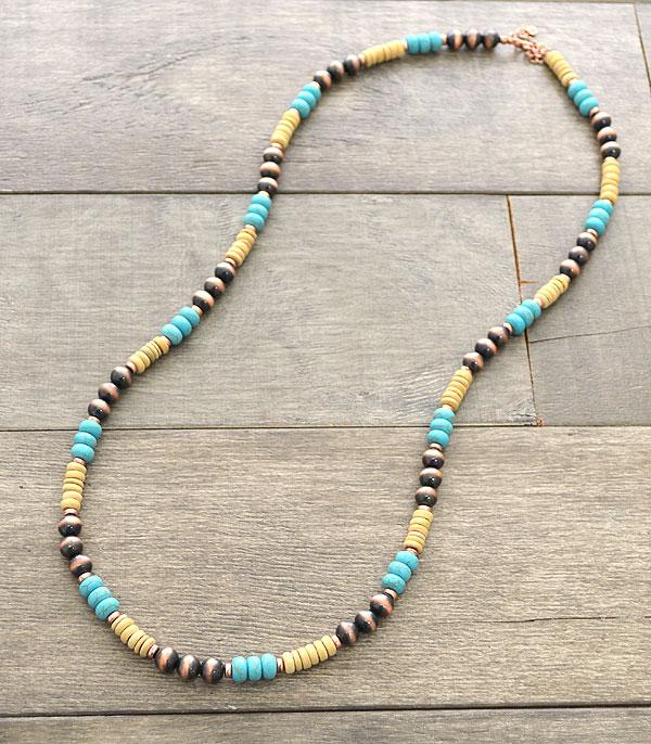 New Arrival :: Wholesale Western Navajo Pearl Necklace