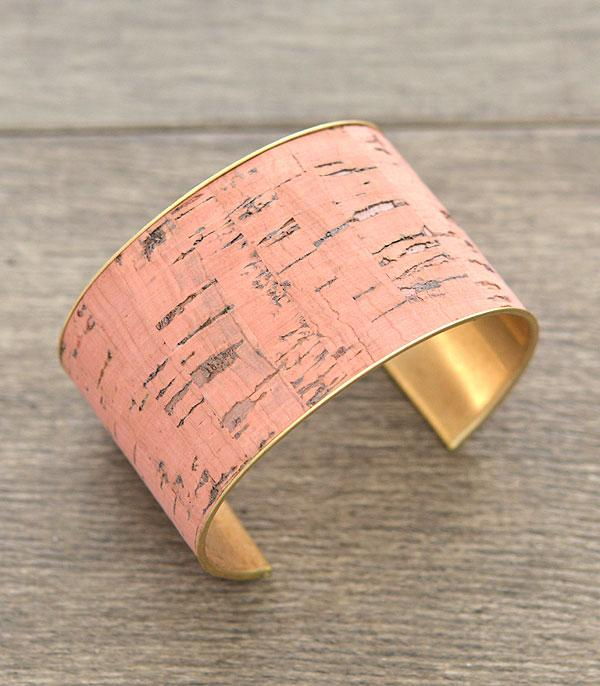 New Arrival :: Wholesale Cork Fashion Cuff Bracelet
