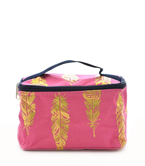 New Arrival :: Wholesale NGIL Gold Foil Arrow Cosmetic Bag